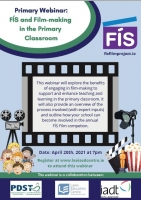 SP181-21 PRIMARY WEBINAR: FÍS AND FILM-MAKING IN THE PRIMARY CLASSROOM