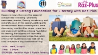 SP157-21 Building a Strong Foundation for Literacy with Raz-Plus