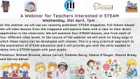 SP177-21 Sharing and building practice: A meeting for teachers interested in STEAM