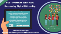 SP64-21 Post-Primary Webinar  - Developing Digital Citizenship