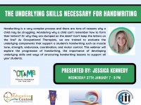 SP06-21 The Underlying Skills Necessary for Handwriting