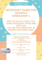 Aut 77- Microsoft Teams Workshop 3- How to set up a video callusing Microsoft Teams.