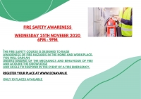 AUT58 - Fire Safety Awareness