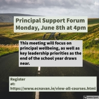 NESC Online 45 - Principal Support - Community of Practice for School Principals, leading in challenging times