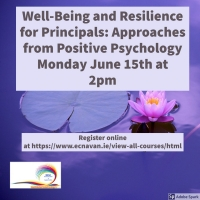 NESC Online 47 - Well-Being and Resilience for Principals: Approaches from Positive Psychology